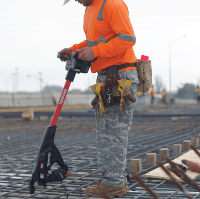 Stand up Rebar Tier